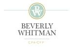 Beverly Whitman CPA, CFP logo